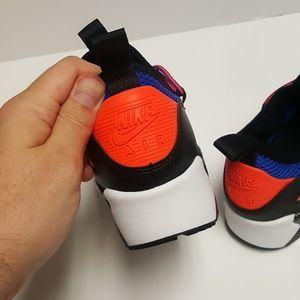 another chance f2618 1c1a0 Nike Shoes - NIKE BOYS AIR MAX 90 EZ GS RACER BLUE CRIMSON